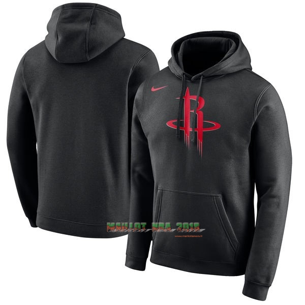 Hoodies NBA Houston Rockets Nike Noir