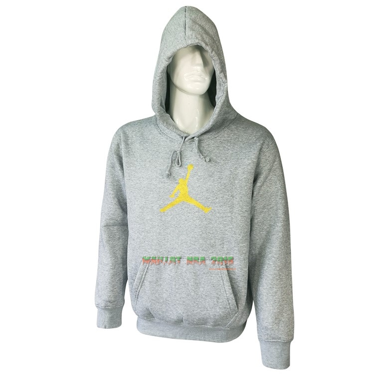 Hoodies NBA Jordan Gris