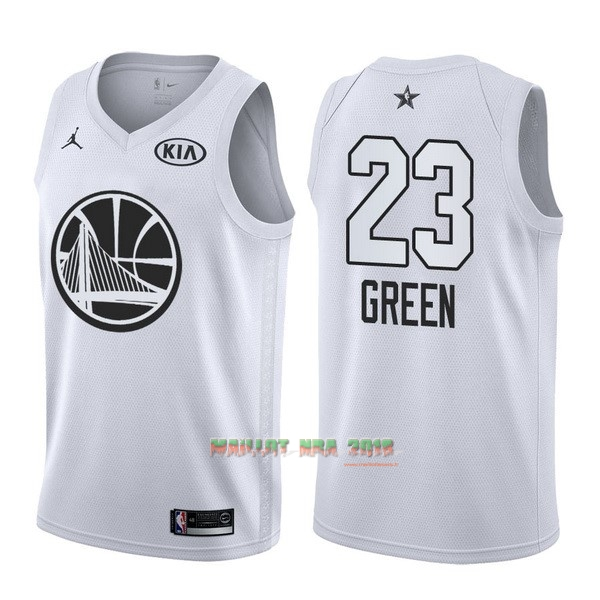 Maillot NBA 2018 All Star NO.23 Draymond Green Blanc