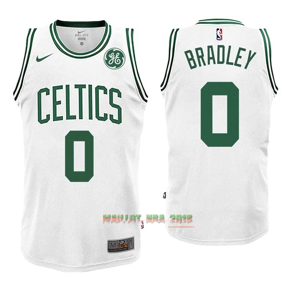 Maillot NBA Nike Boston Celtics NO.0 Avery Bradley Blanc