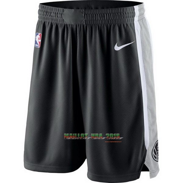 Short Basket Brooklyn Nets Nike Gris