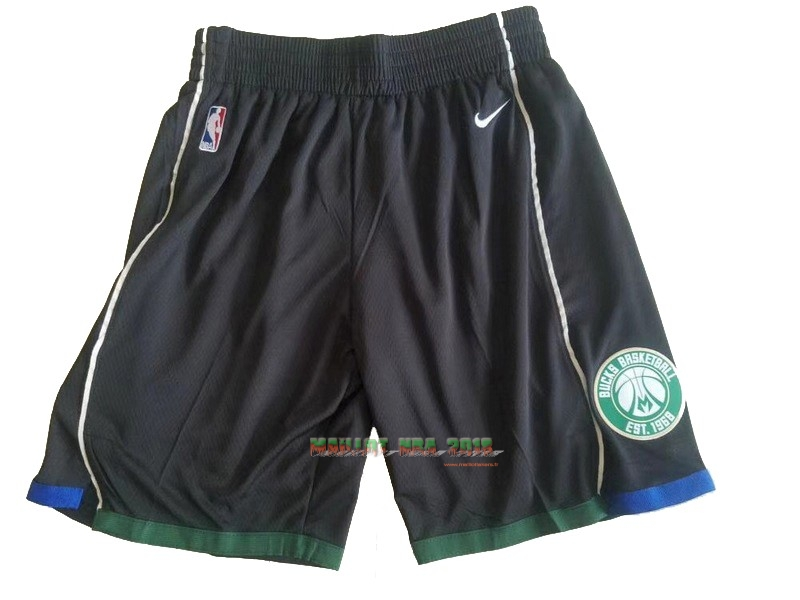 Short Basket Brooklyn Nets Nike Noir