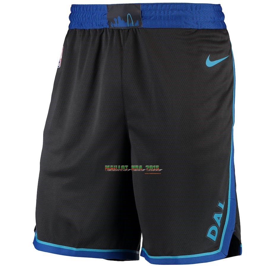 Short Basket Dallas Mavericks Nike Anthracite Ville 2018-19