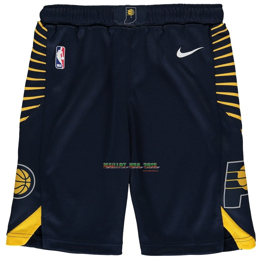 Short Basket Enfant Indiana Pacers Nike Marine 2018-19