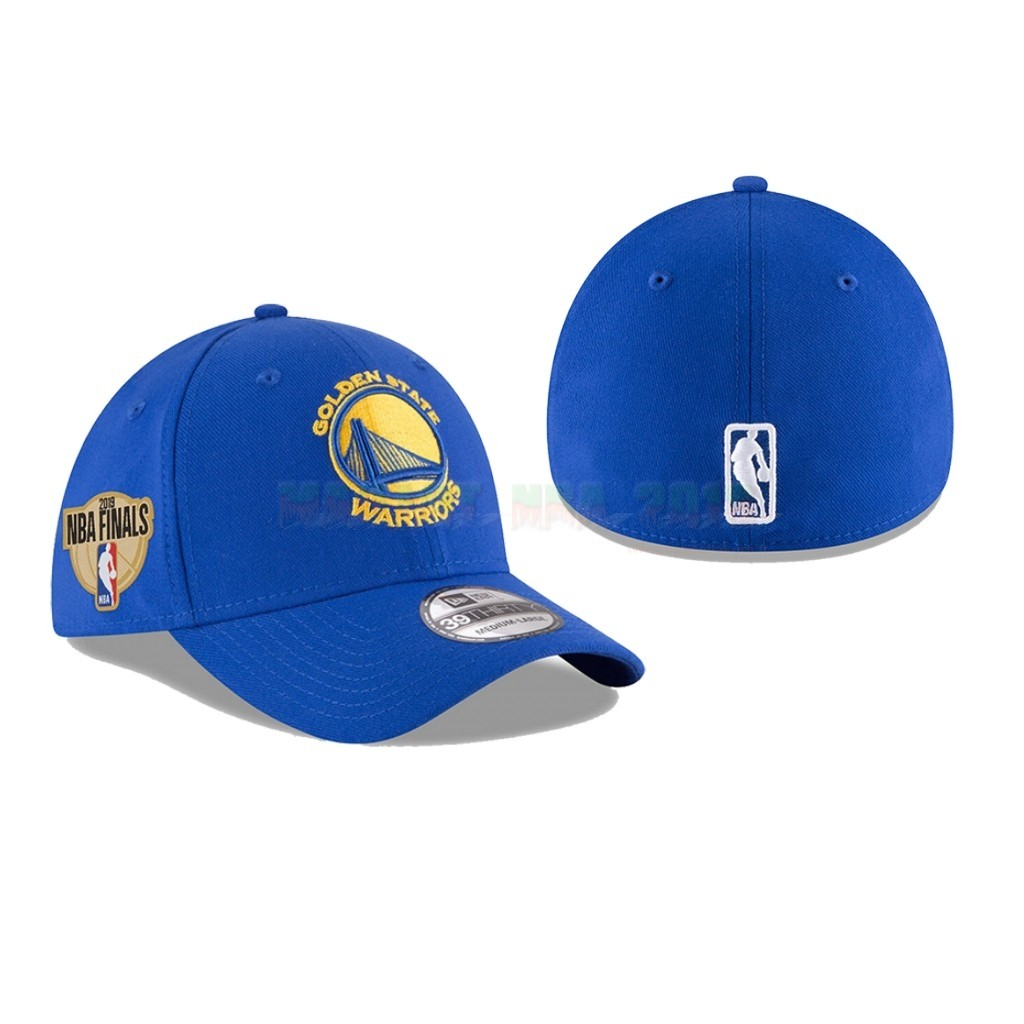 Bonnet 2019 NBA Finals Golden State Warriors Bleu 01