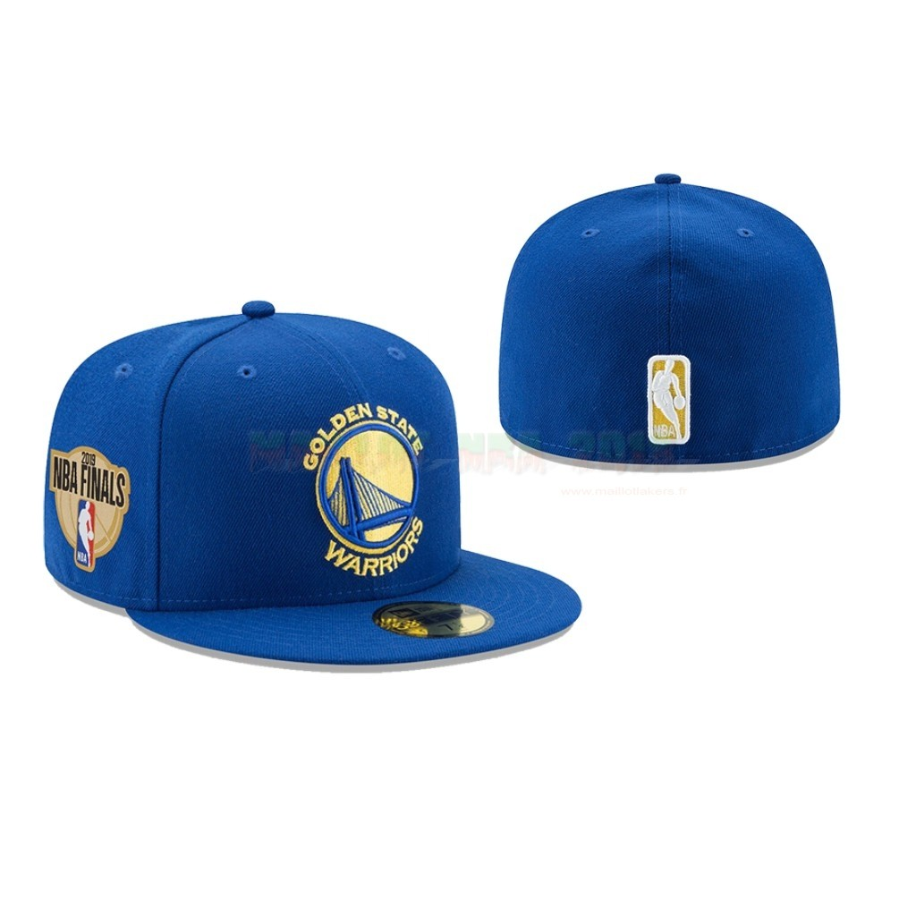 Bonnet 2019 NBA Finals Golden State Warriors Bleu 02
