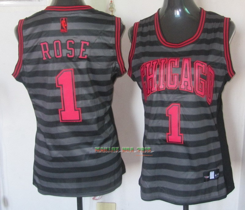 Maillot NBA Femme Groove Fashion NO.1 Derrick Rose