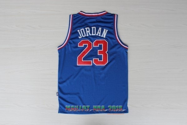 Maillot NBA 1992 All Star NO.23 Michael Jordan Bleu
