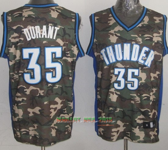 Maillot NBA 2013 Camouflage Fashion NO.35 Durant