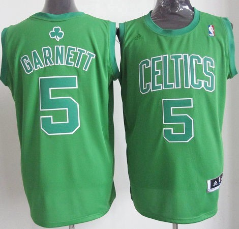 Maillot NBA Boston Celtics 2012 Noël NO.5 Garnett Veder