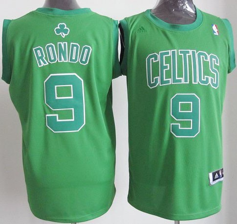 Maillot NBA Boston Celtics 2012 Noël NO.9 Rondo Veder