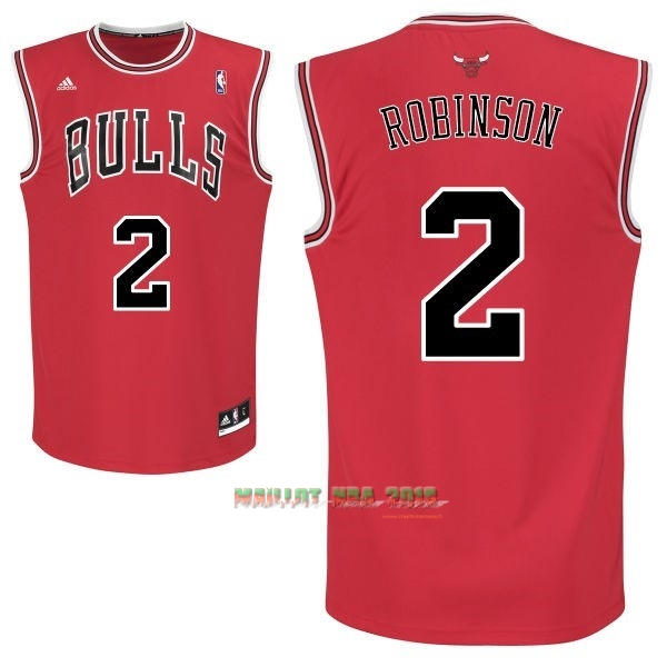 Maillot NBA Chicago Bulls NO.2 Nate Robinson Rouge