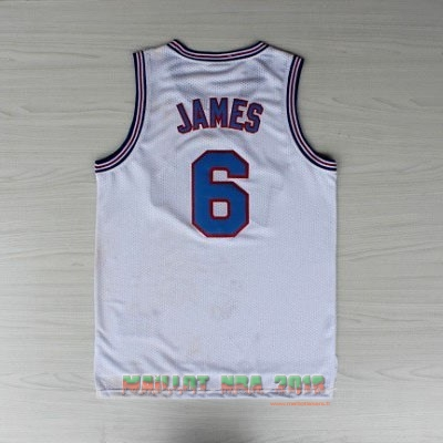 Maillot NBA Film Basket-Ball Tune Squad NO.6 James Blanc