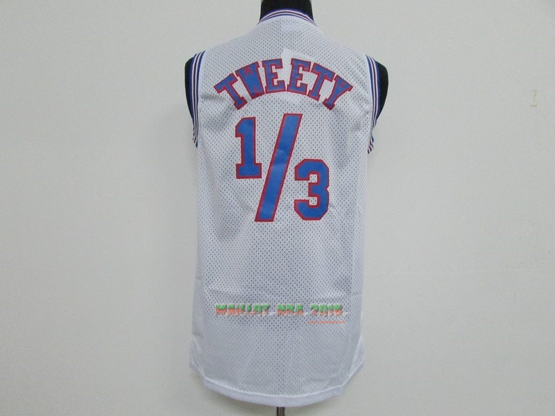 Maillot NBA Film Basket-Ball Tune Squad Tweety Blanc