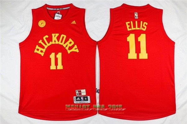 Maillot NBA Indiana Pacers NO.11 Monta Ellis Rouge