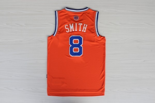 Maillot NBA New York Knicks 2012 Noël NO.8 Smith Orange