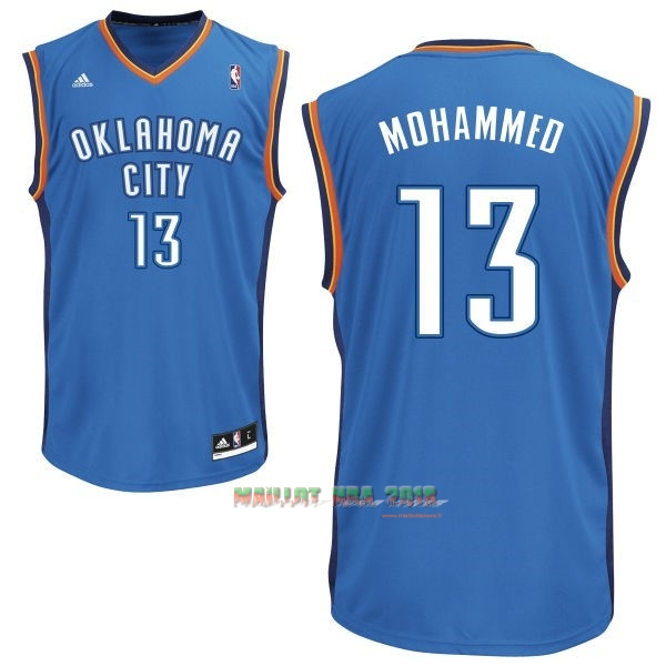 Maillot NBA Oklahoma City Thunder NO.13 James Harden Bleu
