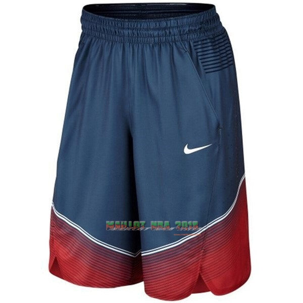 Short Basket 2014 USA Bleu