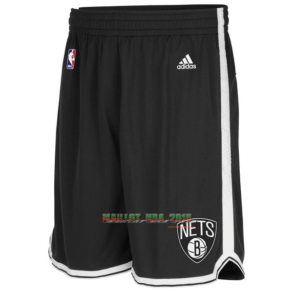 Short Basket Brooklyn Nets Noir