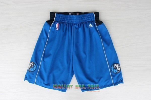 Short Basket Dallas Mavericks Bleu