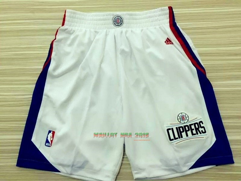Short Basket Los Angeles Clippers Blanc