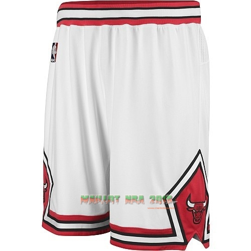 Short Basket Nike Chicago Bulls Blanc