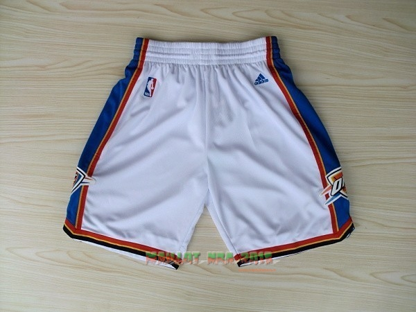 Short Basket Oklahoma City Thunder Blanc