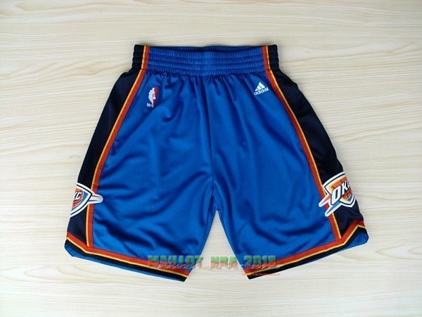 Short Basket Oklahoma City Thunder Bleu