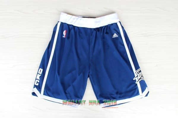 Short Basket Oklahoma City Thunder Retro Bleu