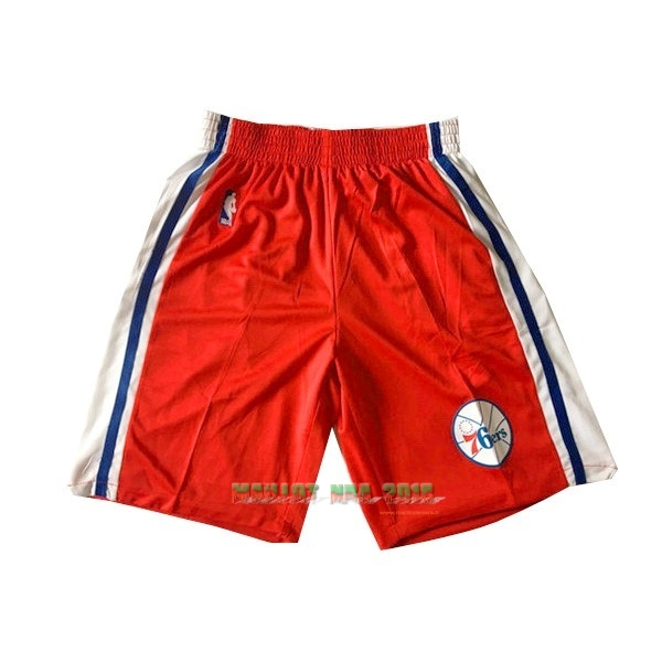 Short Basket Philadelphia Sixers Rouge