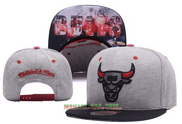 Bonnet 2017 Chicago Bulls Gris NO.01