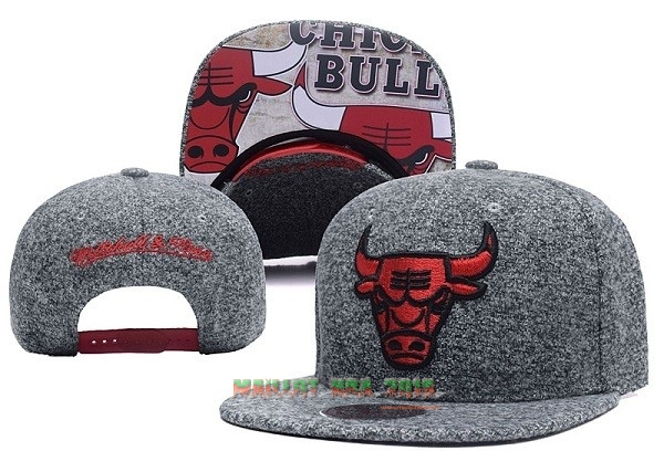 Bonnet 2017 Chicago Bulls Gris NO.06