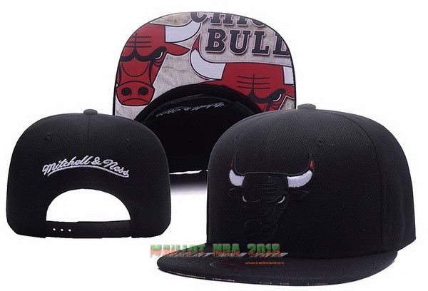 Bonnet 2017 Chicago Bulls Noir NO.01