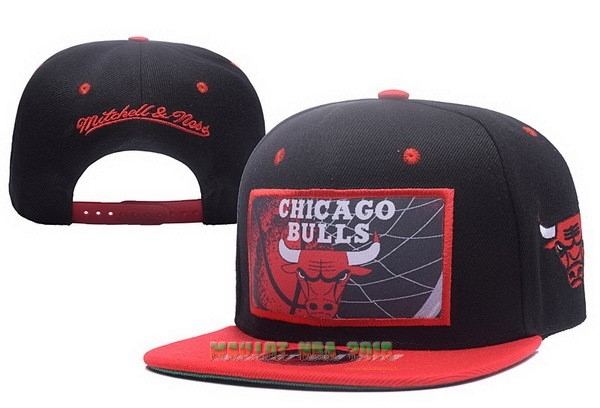 Bonnet 2017 Chicago Bulls Rouge Noir NO.02