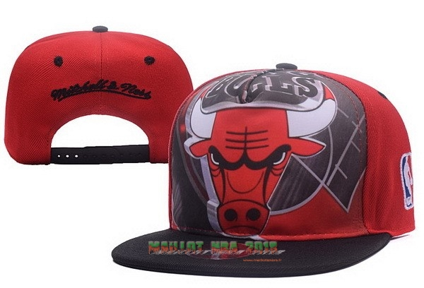 Bonnet 2017 Chicago Bulls Rouge Noir NO.05