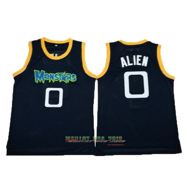 Maillot NBA Film Basket-Ball Tune Squad NO.0 Alien Noir