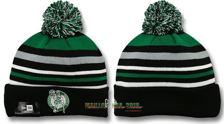 Tricoter un Bonnet 2017 Boston Celtics Noir Bande