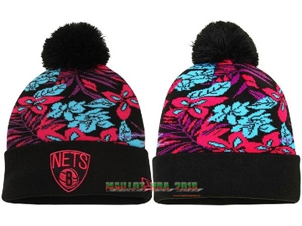 Tricoter un Bonnet 2017 Brooklyn Nets Bleu